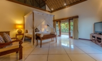 Spacious Bedroom with Sofa and TV - Villa Cemara - Seminyak, Bali