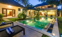 Swimming Pool at Night - Villa Cemara - Seminyak, Bali