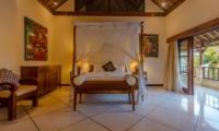 Bedroom and Balcony - Villa Cemara - Seminyak, Bali