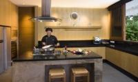 Kitchen with Chef - Villa Cendrawasih - Seminyak, Bali