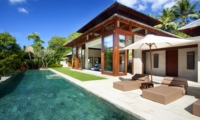 Gardens and Pool - Villa Champuhan - Seseh, Bali