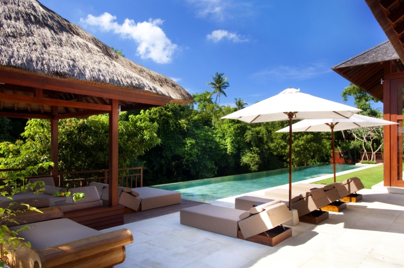 Pool Side Loungers - Villa Champuhan - Seseh, Bali