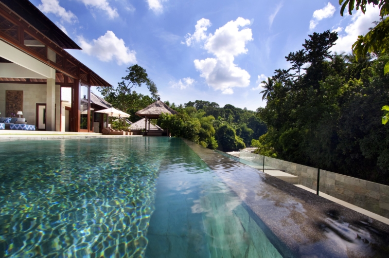 Pool with View - Villa Champuhan - Seseh, Bali