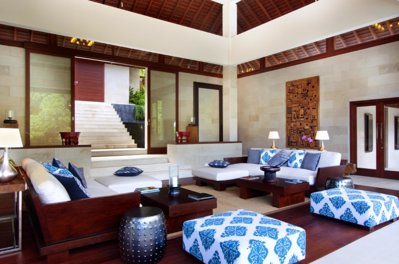 Living Area - Villa Champuhan - Seseh, Bali