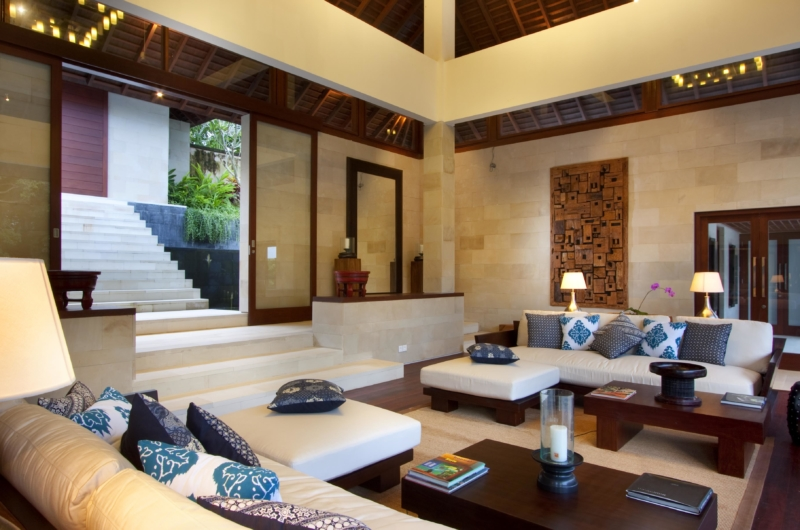 Indoor Living Area - Villa Champuhan - Seseh, Bali