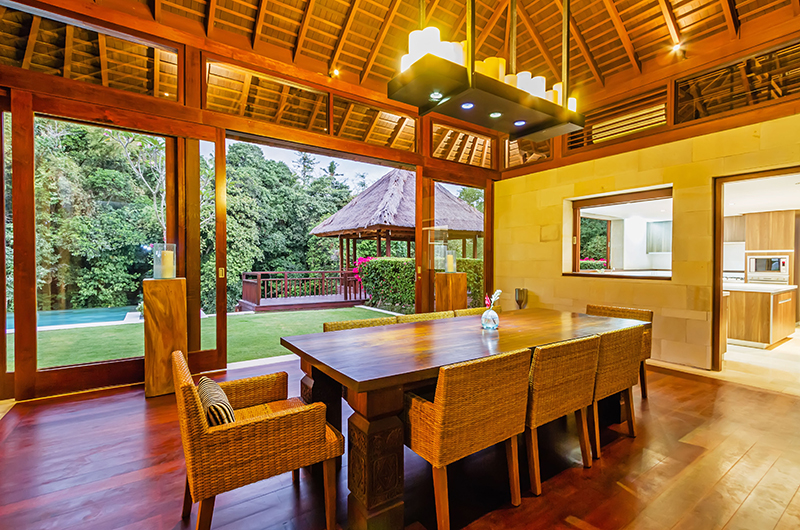 Dining Area with View - Villa Champuhan - Seseh, Bali