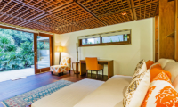 Bedroom with Garden View - Villa Champuhan - Seseh, Bali