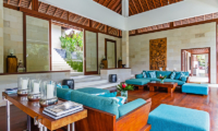 Living Area with Cushions - Villa Champuhan - Seseh, Bali