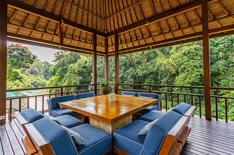 Open Plan Lounge Area - Villa Champuhan - Seseh, Bali