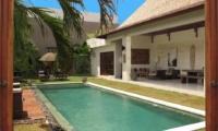 Pool Side - Villa Chocolat - Seminyak, Bali