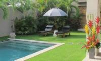 Reclining Sun Loungers - Villa Chocolat - Seminyak, Bali