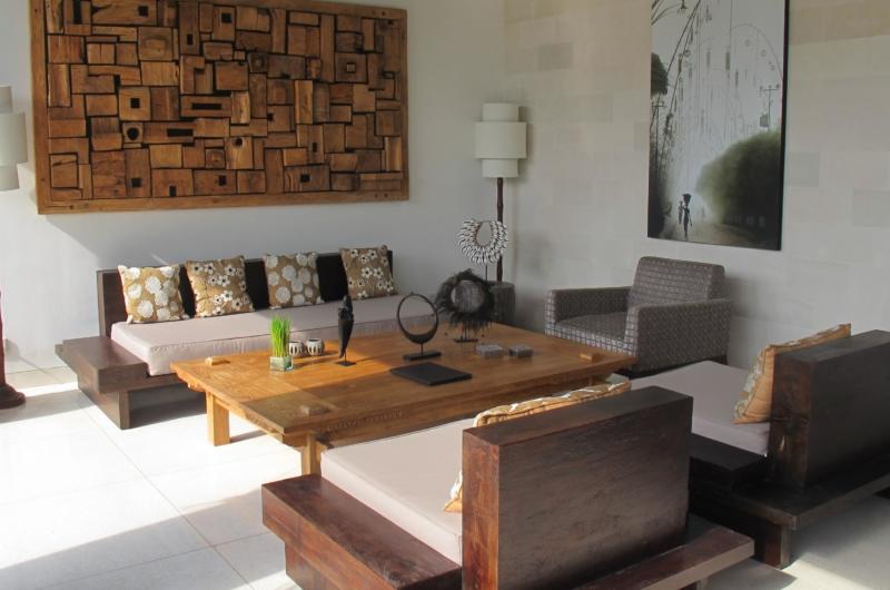 Indoor Living Area - Villa Chocolat - Seminyak, Bali
