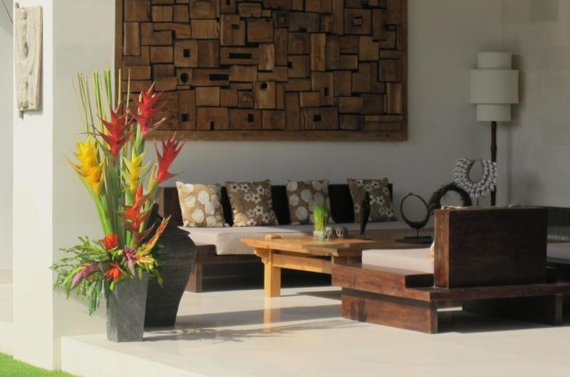 Lounge Area - Villa Chocolat - Seminyak, Bali