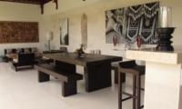 Dining Area - Villa Chocolat - Seminyak, Bali