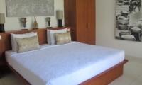 Bedroom with Table Lamps - Villa Chocolat - Seminyak, Bali