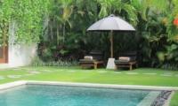 Sun Beds - Villa Chocolat - Seminyak, Bali