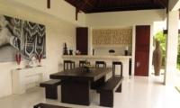 Kitchen and Dining Area - Villa Chocolat - Seminyak, Bali