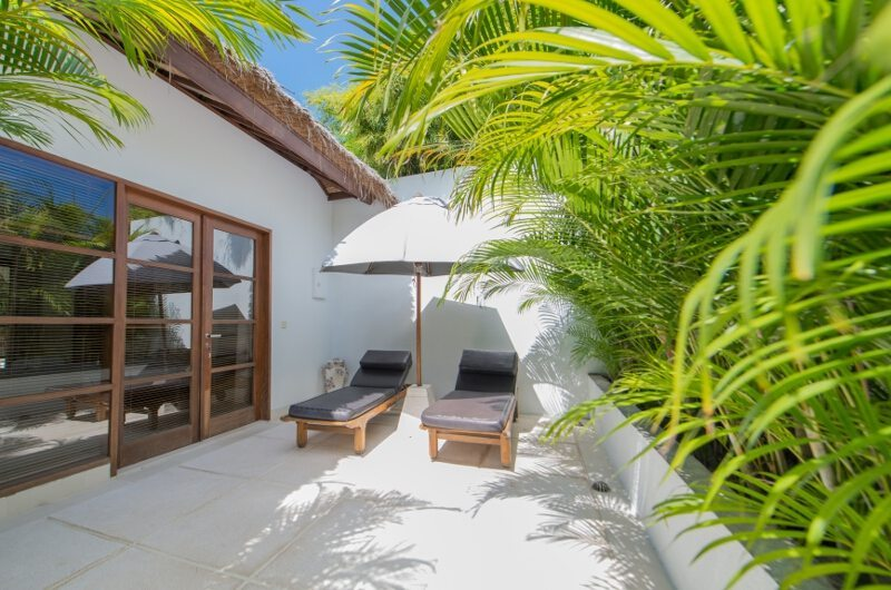 Sun Beds in the Balcony - Villa Chocolat - Seminyak, Bali