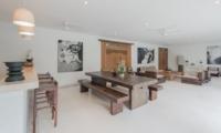 Living and Dining Area - Villa Chocolat - Seminyak, Bali