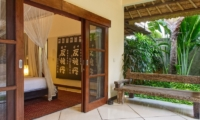 Bedroom and Balcony - Villa Cinta - Seminyak, Bali