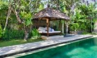 Pool Side Seating Area - Villa Cinta - Seminyak, Bali