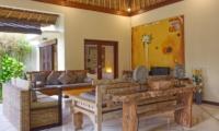 Living Area with TV - Villa Cinta - Seminyak, Bali