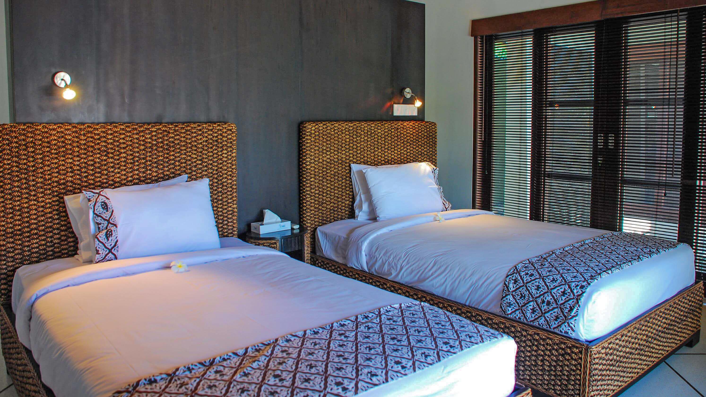 Twin Bedroom - Villa Cinta - Seminyak, Bali