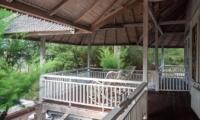 Balcony View - Villa Coral Flora - Gili Trawangan, Lombok
