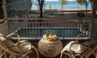 Pool View from Balcony - Villa Coral Flora - Gili Trawangan, Lombok