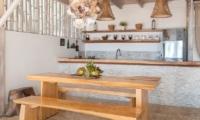 Kitchen Area - Villa Coral Flora - Gili Trawangan, Lombok