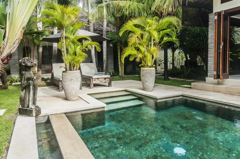 Pool Side - Villa Damai - Seminyak, Bali