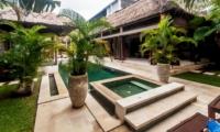 Pool Side Jacuzzi - Villa Damai - Seminyak, Bali