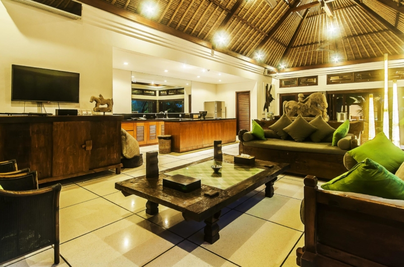 Living Area with TV - Villa Damai - Seminyak, Bali