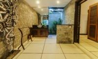 Bathroom with Mirror at Night - Villa Damai - Seminyak, Bali