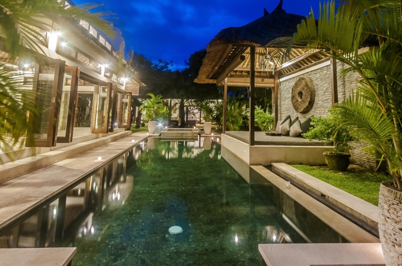 Pool at Night - Villa Damai - Seminyak, Bali