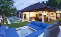 Pool Side Lounge - Villa Damai Lestari - Seminyak, Bali