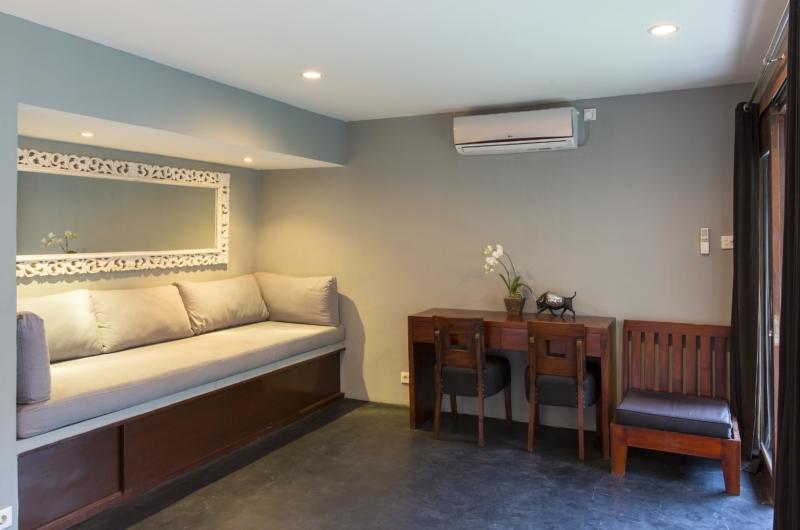 Lounge Area with Study Table - Villa Damai Lestari - Seminyak, Bali