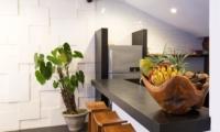 Kitchen with Fruits - Villa Damai Lestari - Seminyak, Bali