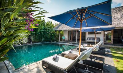 Pool Side - Villa Damai Manis - Seminyak, Bali