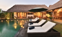 Pool at Night - Villa Damai Manis - Seminyak, Bali