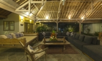 Living Area at Night - Villa Damai Manis - Seminyak, Bali