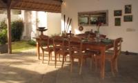 Dining Area - Villa Damai Manis - Seminyak, Bali