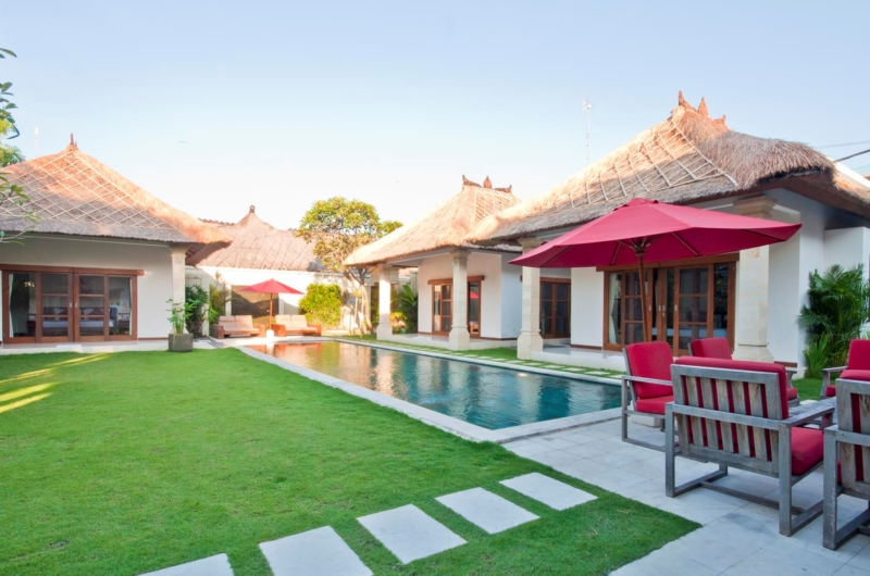 Pool Side Seating Area - Villa Darma - Seminyak, Bali