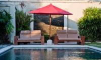 Sun Loungers - Villa Darma - Seminyak, Bali