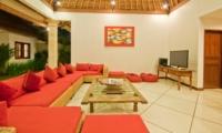 Lounge Area with TV - Villa Darma - Seminyak, Bali