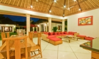 Living and Dining Area - Villa Darma - Seminyak, Bali