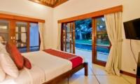 Bedroom with Pool View - Villa Darma - Seminyak, Bali