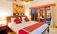 Bedroom with View - Villa Darma - Seminyak, Bali