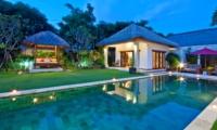 Pool at Night - Villa Darma - Seminyak, Bali