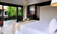 Bedroom and Balcony - Villa De Suma - Seminyak, Bali